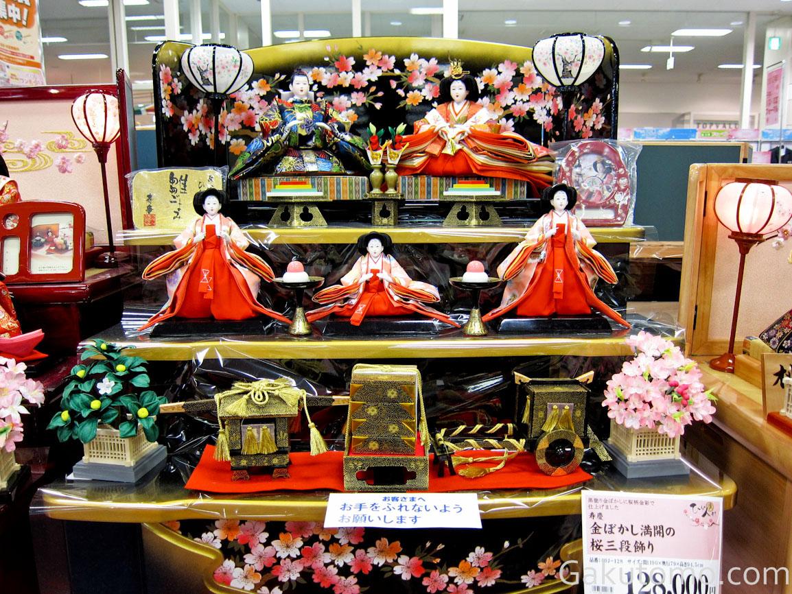 girl day pic9 Lễ hội búp bê Hina Matsuri