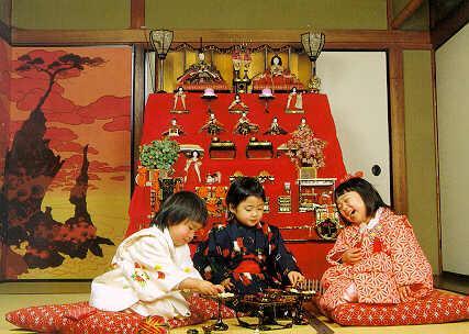 girl day pic1 Lễ hội búp bê Hina Matsuri