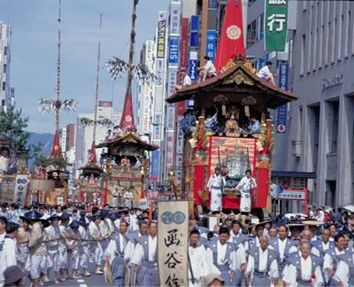 Mikoshi Lễ hội Jidai (Jidai matsuri) Nhật Bản