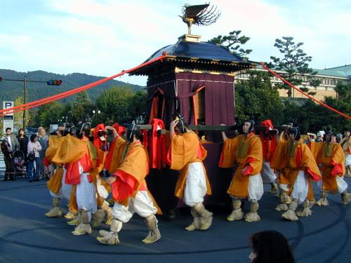 Mikoshi nhaban Lễ hội Jidai (Jidai matsuri) Nhật Bản
