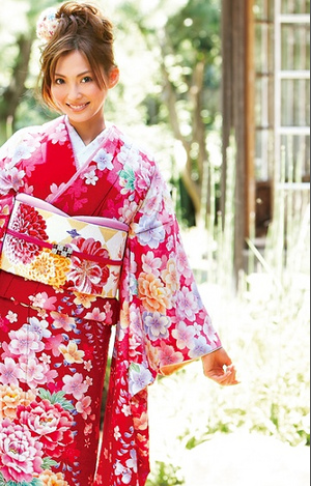 kimono duhochoasen1 Lịch sử Kimono qua các thời kỳ.