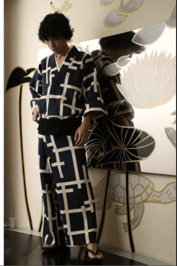 kimono duhochoasen2 Lịch sử Kimono qua các thời kỳ.