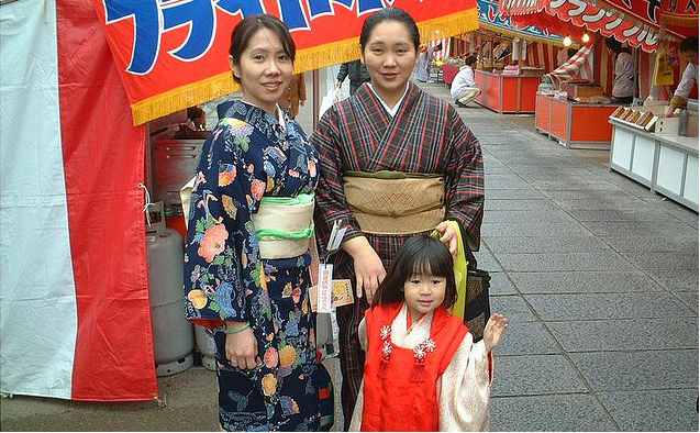 kimono duhochoasen5 Lịch sử Kimono qua các thời kỳ.