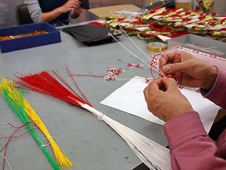 mizuhiki japan 2 Mizuhiki   vật phổ biến trên những món quà Nhật
