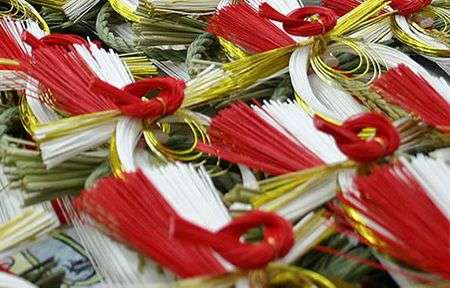 mizuhiki japan 3 Mizuhiki   vật phổ biến trên những món quà Nhật