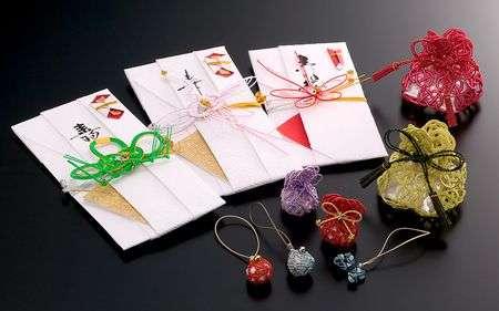 kep giay Mizuhiki Mizuhiki   vật phổ biến trên những món quà Nhật