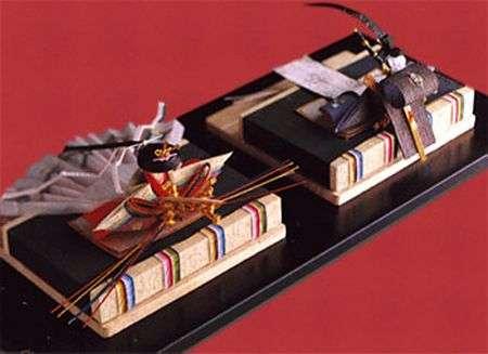 kep giay Mizuhiki 2 Mizuhiki   vật phổ biến trên những món quà Nhật