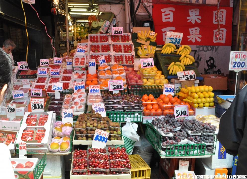 ameyoko fruit shop Mua sắm ở Nhật Bản