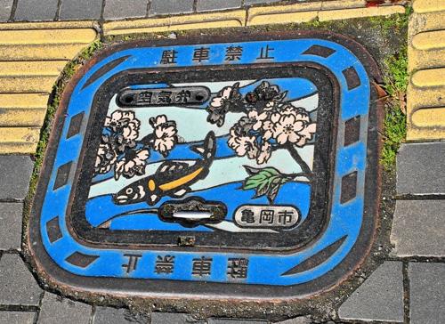 nghe thuat tren nhung nap cong o nhat ban 3 Nghệ thuật trên những nắp cống ở Nhật Bản