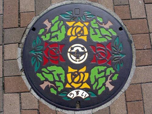 nghe thuat tren nhung nap cong o nhat ban 8 Nghệ thuật trên những nắp cống ở Nhật Bản