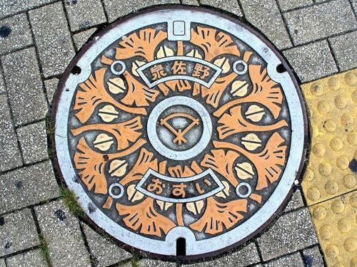 nghe thuat tren nhung nap cong o nhat ban 1 Nghệ thuật trên những nắp cống ở Nhật Bản