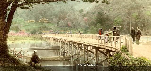 Kyoto Arashiyama [Tổng Hợp]   Những bức ảnh về nước Nhật xưa