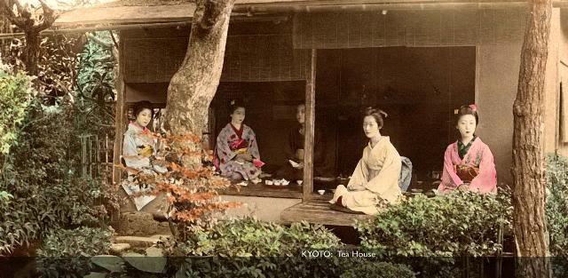 Kyoto TeaHouse [Tổng Hợp]   Những bức ảnh về nước Nhật xưa
