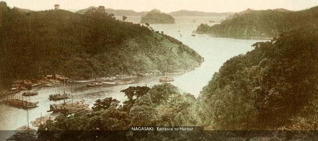 Nagasaki Harbor [Tổng Hợp]   Những bức ảnh về nước Nhật xưa