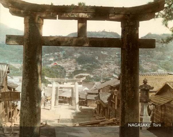 Nagasaki Torii [Tổng Hợp]   Những bức ảnh về nước Nhật xưa