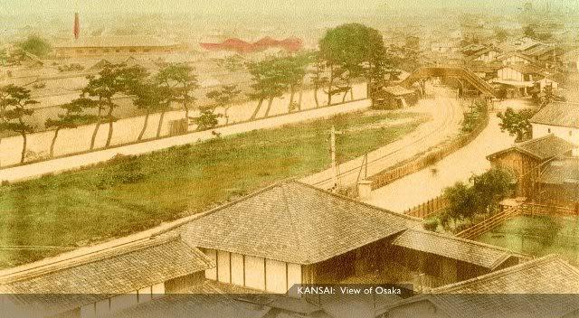 Kansai Osaka [Tổng Hợp]   Những bức ảnh về nước Nhật xưa