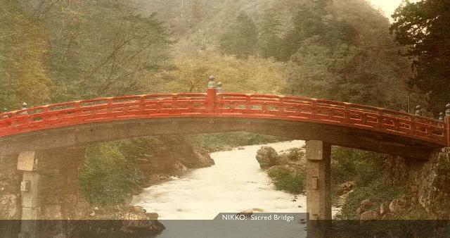 Nikko SacredBridge [Tổng Hợp]   Những bức ảnh về nước Nhật xưa