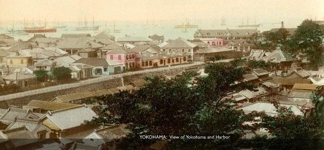 Yokohama Harbor [Tổng Hợp]   Những bức ảnh về nước Nhật xưa