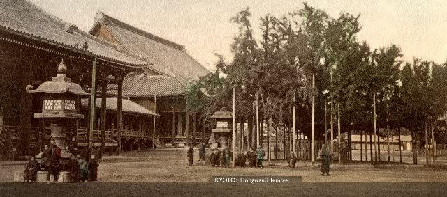 Kyoto Hongwanji [Tổng Hợp]   Những bức ảnh về nước Nhật xưa