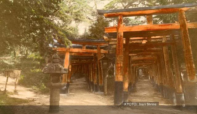 Kyoto InariShrine [Tổng Hợp]   Những bức ảnh về nước Nhật xưa
