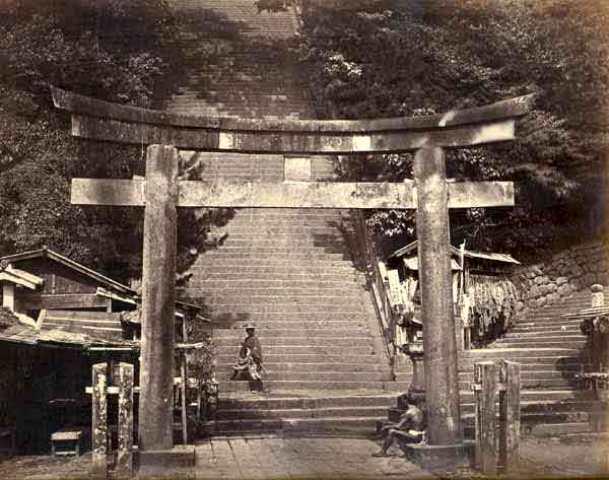 AtangoYamaatYedoTokyo [Tổng Hợp]   Những bức ảnh về nước Nhật xưa