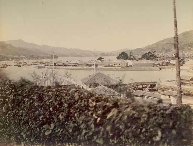 DeshimaIslandNagasaki [Tổng Hợp]   Những bức ảnh về nước Nhật xưa
