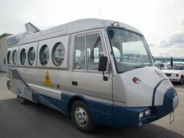 Airliner bus Những chiếc xe buýt đáng yêu tại Nhật Bản