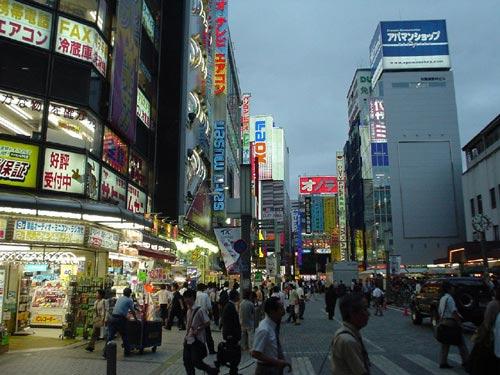 phodientu Akihabara Những khu phố độc đáo ở Nhật Bản