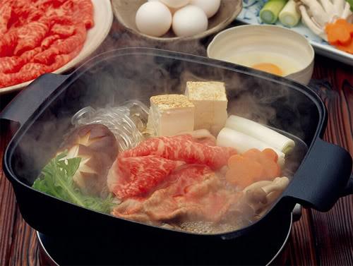 lau Sukiyaki Những món ăn thống trị xứ sở hoa anh đào