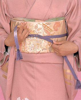 Obi jime Những phụ kiện của kimono Nhật Bản