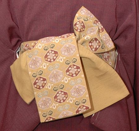 Taiko musubi Những phụ kiện của kimono Nhật Bản