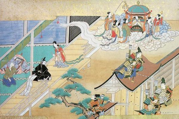 nang cong chua tu mat trang Núi phú sĩ (Fuji) và những câu chuyện viễn tưởng đầu tiên