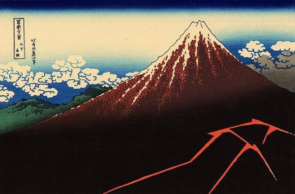 nui phu si fuji Núi phú sĩ (Fuji) và những câu chuyện viễn tưởng đầu tiên