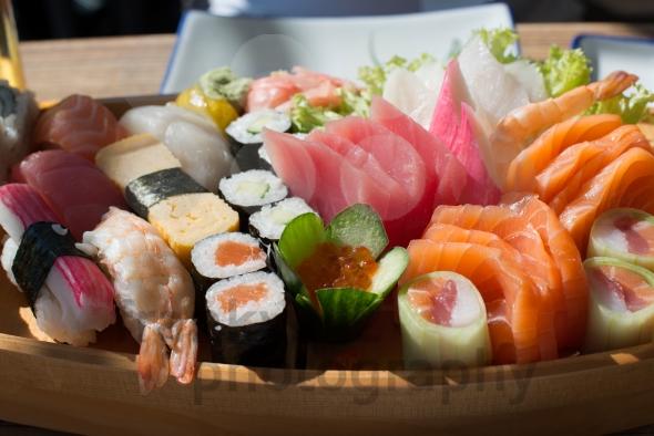 Phân biệt sushi và sashimi ở Nhật Bản