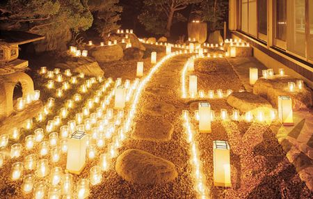 Rousoku nhat ban 11 Rousoku – Vẻ đẹp nến Nhật Bản