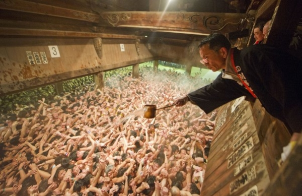 le hoi Saidai ji Eyo japan Saidai ji Eyo   Lễ hội cởi trần lớn nhất Nhật Bản