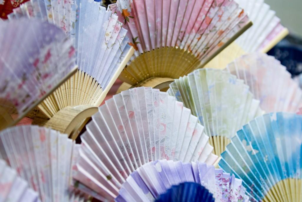 Sensu: chiếc quạt giấy nhỏ xinh Nhật Bản