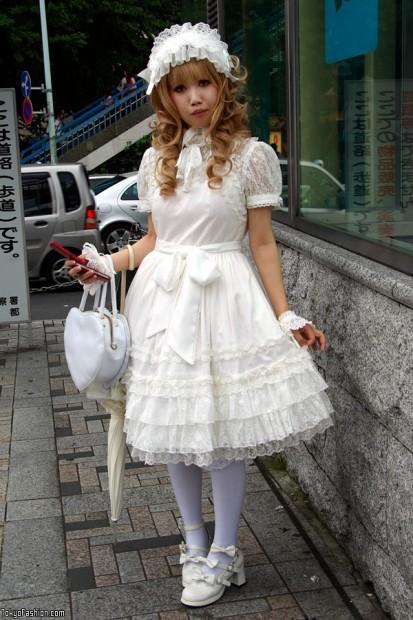 Phong cach Lolita nhat ban Thời trang Lolita ở Nhật Bản