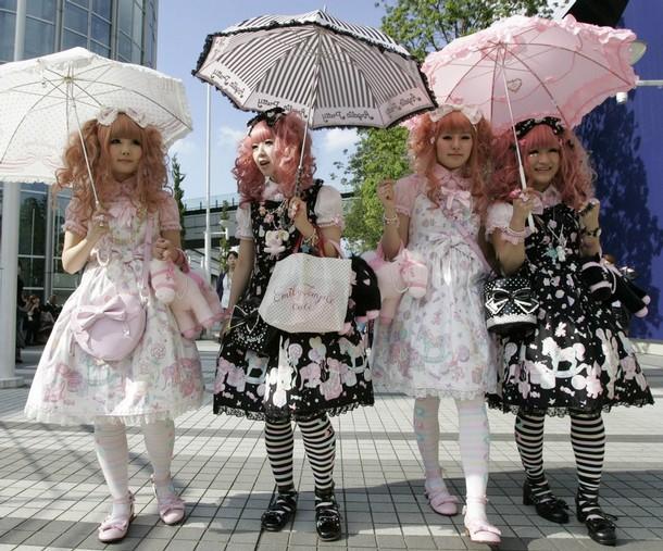 lolita fashion Thời trang Lolita ở Nhật Bản