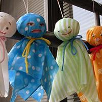Búp bê cầu mưa Tezu Tezu Bouzu Nhật Bản