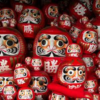 Daruma Nhật Bản- Búp bê may mắn