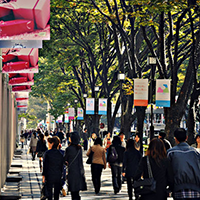 La cà những khu mua sắm tuyệt nhất Tokyo