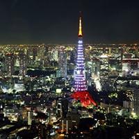 Tháp Tokyo- biểu tượng của thành phố Tokyo Nhật Bản