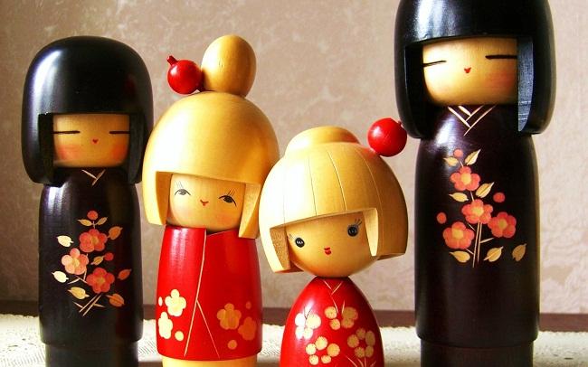 Tìm hiểu về Kokeshi – Búp bê gỗ Nhật Bản