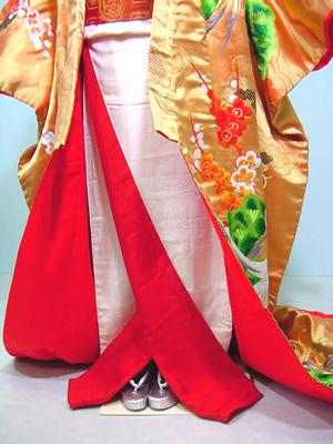 uchikake nhat ban 5 Uchikake Nhật Bản