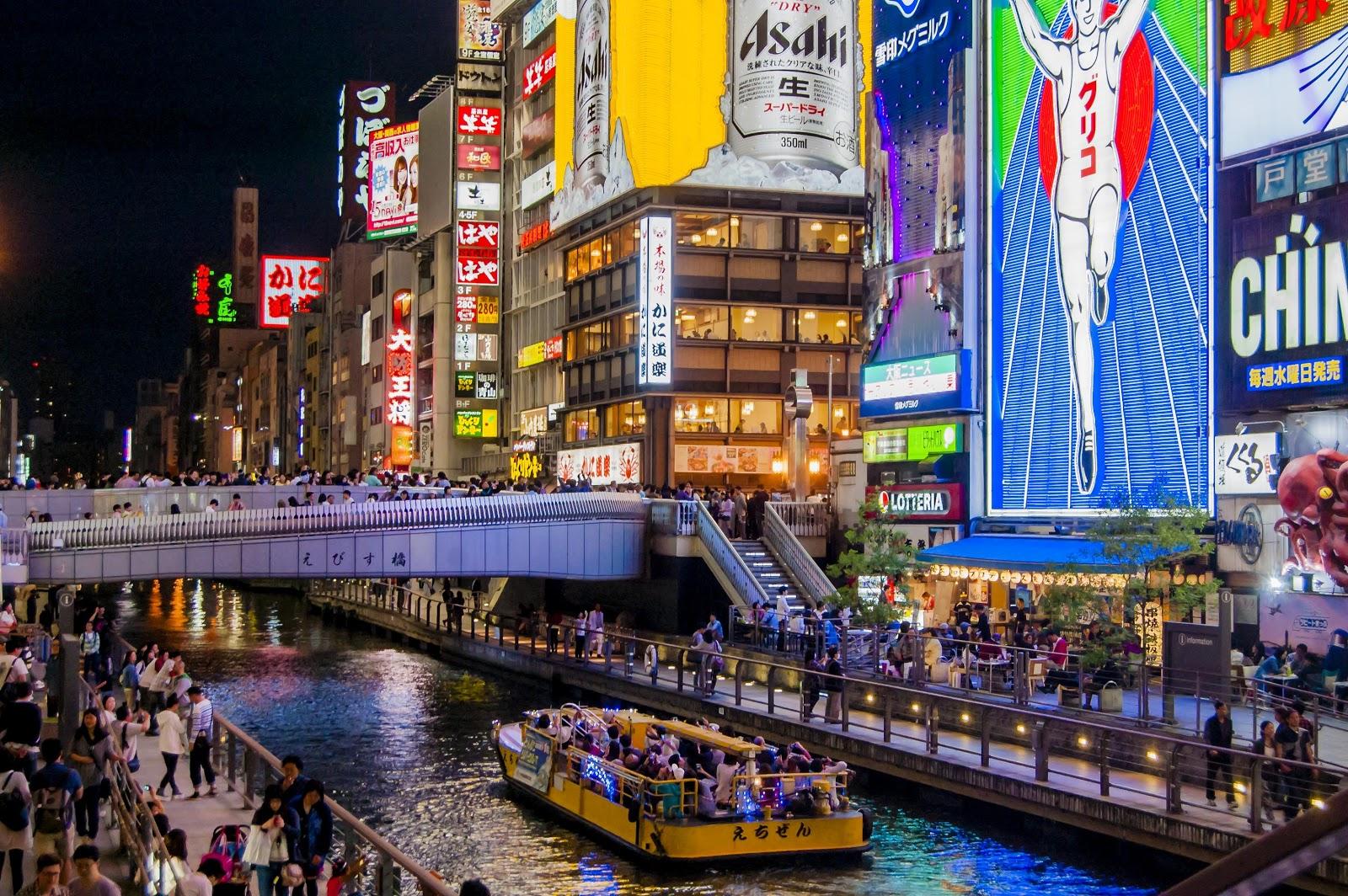 Vòng quanh Osaka