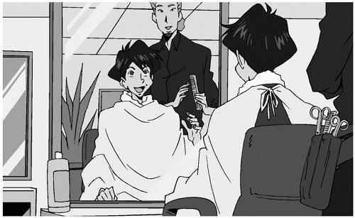 bài 36 : Anh muốn cắt tóc đúng không?