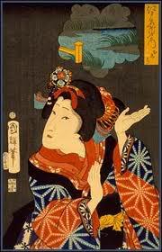 In ukiyo e 30 món quà lưu niệm phổ biến tại Nhật Bản