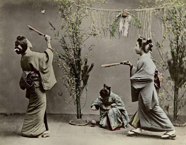 caulong Hanetsuki nhatban 4 Độc đáo cầu lông Hanetsuki Nhật Bản