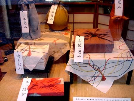 Furoshiki nhatban 1 Furoshiki: Vuông khăn Nhật Bản